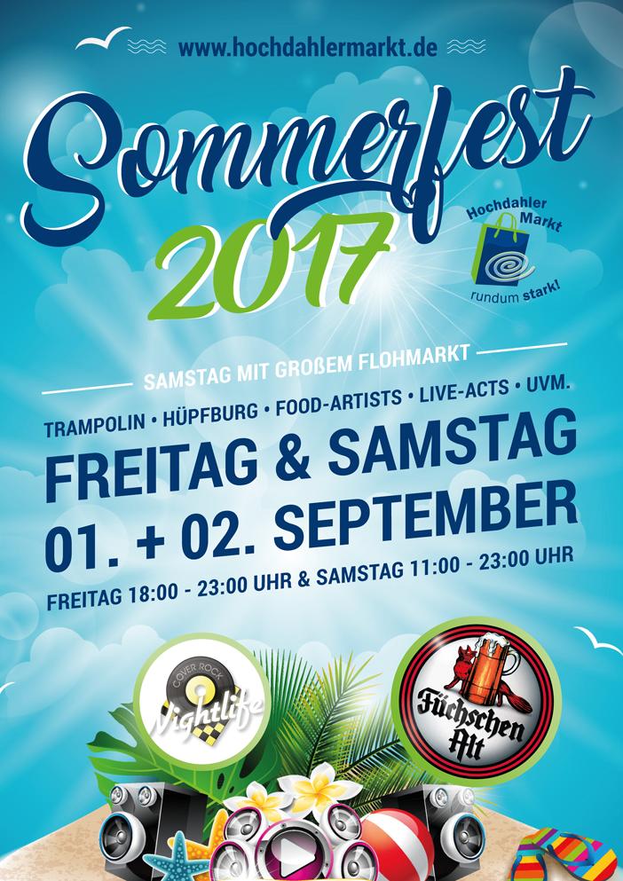 Hochdahler Markt Sommerfest 2017