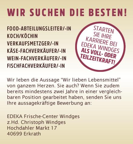 Hochdahler Markt Stellenangebote Edeka