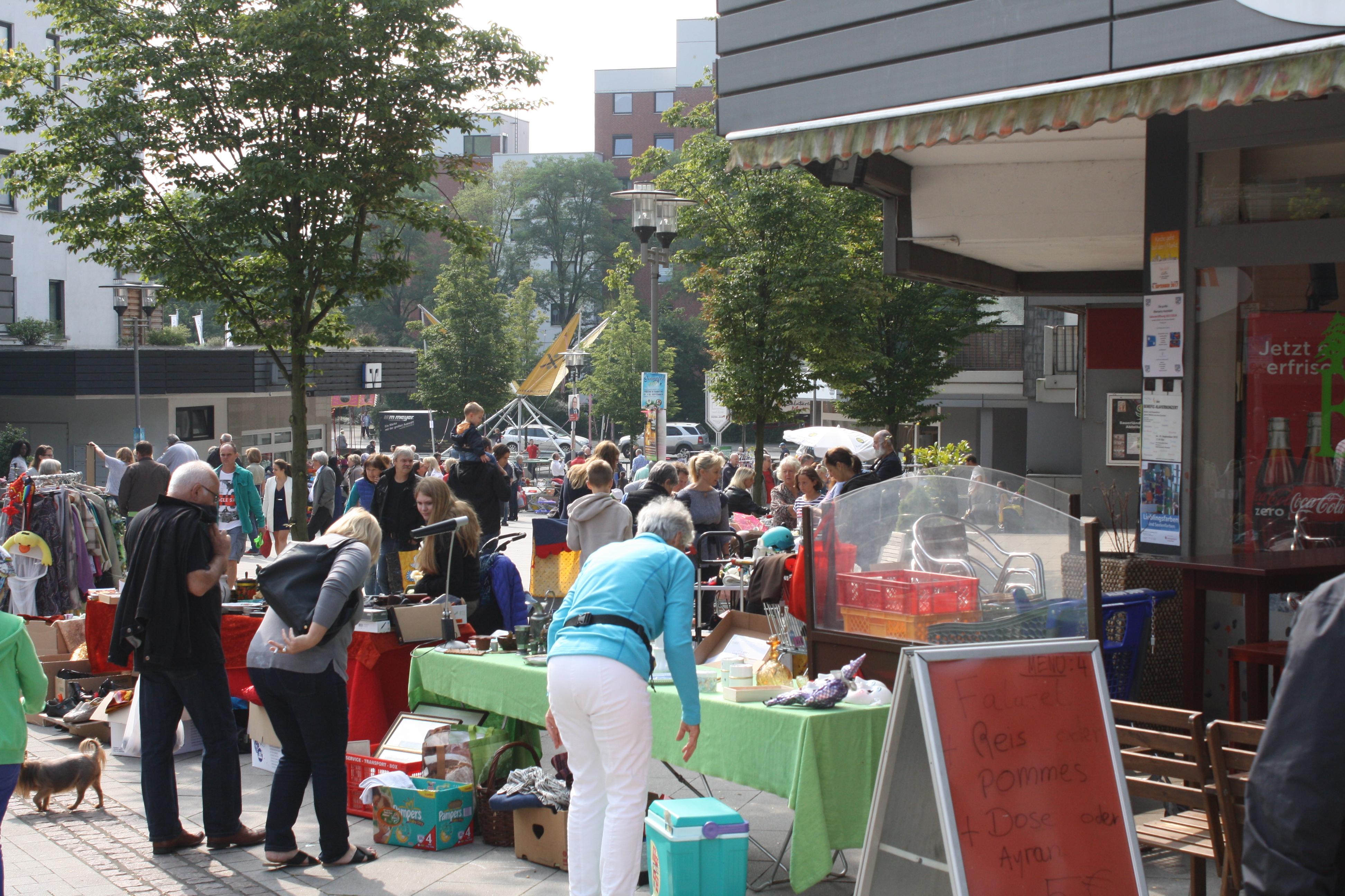 Hochdahler Markt Trödelmarkt