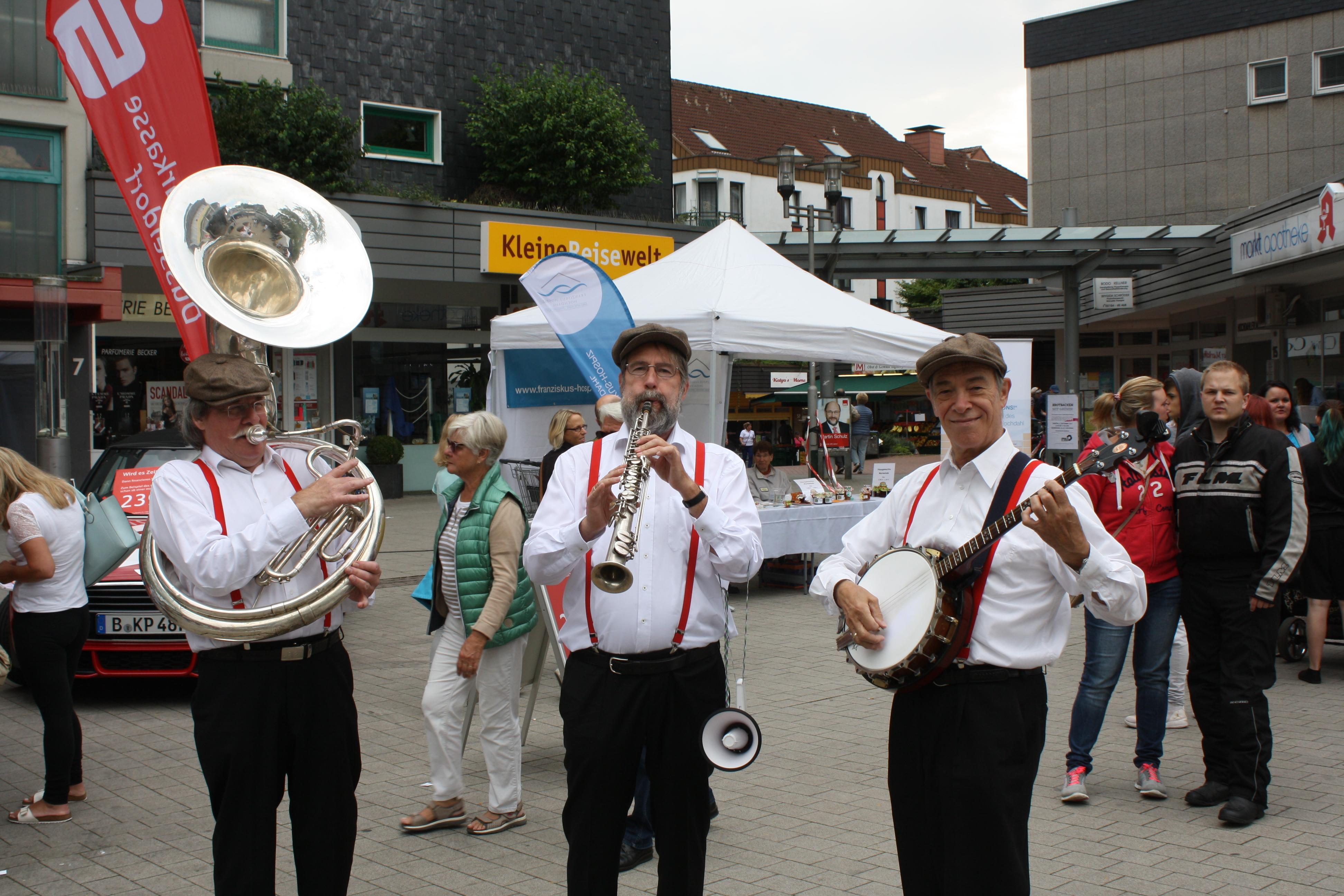 Hochdahler Markt Auftritt