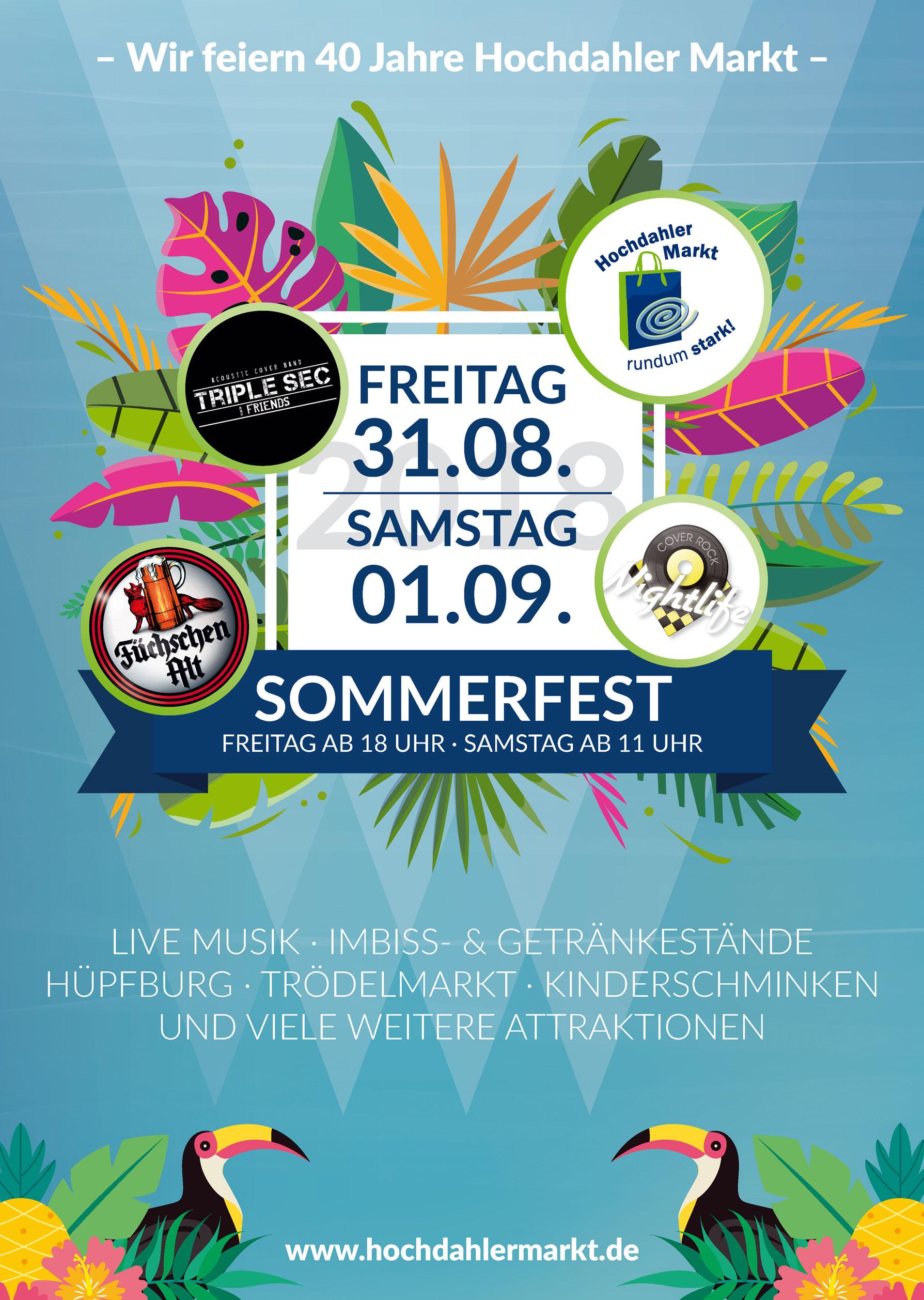 Hochdahler Markt Sommerfest 2018